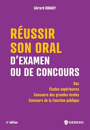 Téléchargez le livre :  Réussir son oral d'examen ou de concours