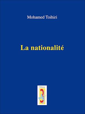 Téléchargez le livre :  La nationalité