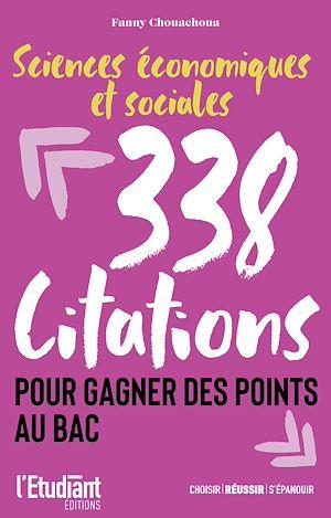 Téléchargez le livre :  SES - 338 citations pour gagner des points au bac