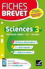 Télécharger cet ebook : Fiches brevet Physique-chimie SVT Technologie 3e