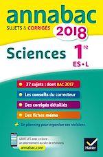 Télécharger le livre :  Annales Annabac 2018 Sciences 1re ES, L