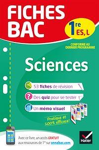 Télécharger le livre : Fiches bac Sciences 1re ES, L