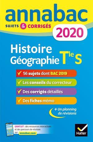 Téléchargez le livre :  Annales Annabac 2020 Histoire-Géographie Tle S