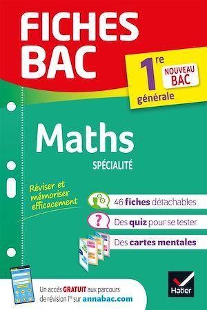 Téléchargez le livre :  Fiches bac Maths 1re (spécialité)