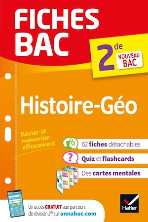 Téléchargez le livre :  Fiches bac Histoire-Géographie 2de