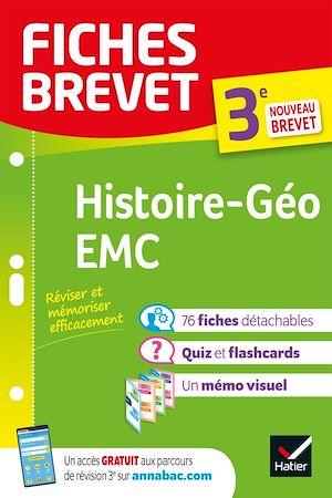 Téléchargez le livre :  Fiches brevet Histoire-Géographie EMC 3e