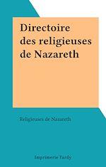 Télécharger le livre :  Directoire des religieuses de Nazareth