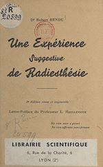Télécharger le livre :  Une expérience suggestive de radiesthésie