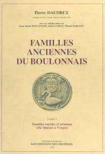 Télécharger cet ebook : Familles anciennes du Boulonnais (2) : Familles rurales et urbaines (Du Quesne à Vergne)