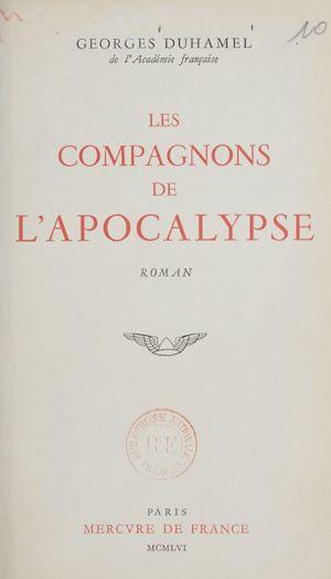 Téléchargez le livre :  Les compagnons de l'Apocalypse