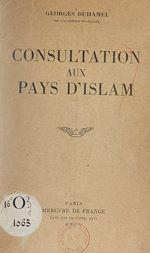 Télécharger le livre :  Consultation aux pays d'Islam
