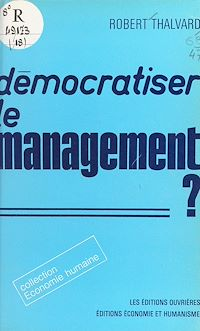 Télécharger le livre : Démocratiser le management ?