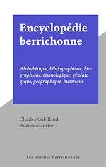 Télécharger le livre :  Encyclopédie berrichonne