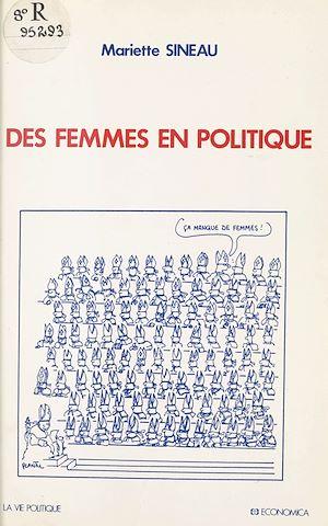 Téléchargez le livre :  Des femmes en politique