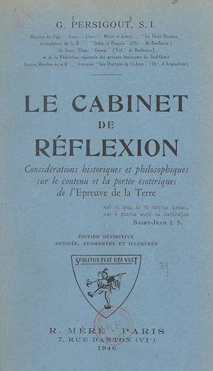 Téléchargez le livre :  Le cabinet de réflexion