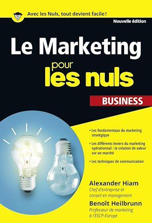 Téléchargez le livre :  Le Marketing pour les Nuls poche business