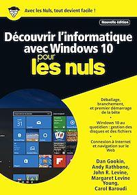 Télécharger le livre : Découvrir l'informatique avec Windows 10 Mégapoche Pour les Nuls, nelle édition