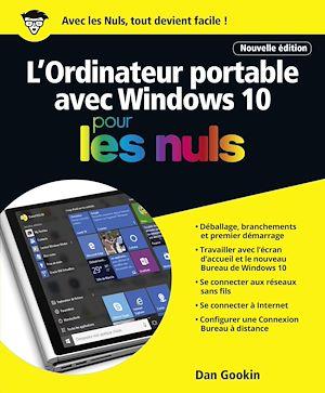 Téléchargez le livre :  L'ordinateur Portable avec Windows 10 Pour les Nuls, nouvelle édition