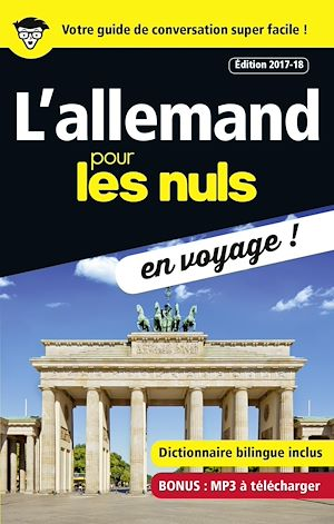 Téléchargez le livre :  L'allemand pour les Nuls en voyage, édition 2017-18