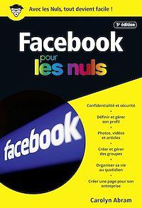 Télécharger le livre : Facebook 5e édition poche pour les Nuls