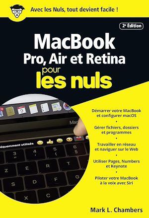 Téléchargez le livre :  MacBook pour les Nuls poche, 2e édition