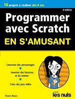 Télécharger le livre :  Programmer avec Scratch pour les Nuls en s'amusant mégapoche
