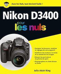 Télécharger le livre : Nikon D3400 pour les Nuls grand format
