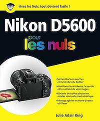 Télécharger le livre : Nikon D5600 pour les Nuls grand format