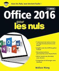 Télécharger le livre : Office 2016 pour les Nuls grand format, 2e édition