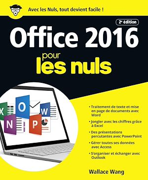 Téléchargez le livre :  Office 2016 pour les Nuls grand format, 2e édition