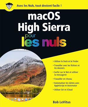 Téléchargez le livre :  macOS High Sierra pour les Nuls grand format