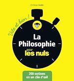 Télécharger le livre :  La philosophie pour les Nuls Vite et Bien