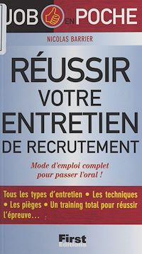 Télécharger le livre : Réussir votre entretien de recrutement