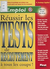 Télécharger le livre : Réussir les tests de recrutement à tous les coups