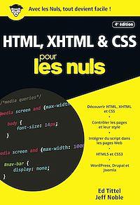 Télécharger le livre : HTML, XHTML et CSS pour les Nuls poche, 4e édition