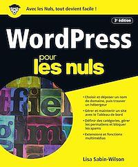 Télécharger le livre : WordPress pour les Nuls, grand format, 3e édition