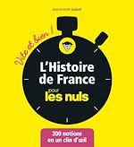 Télécharger le livre :  L'Histoire de France pour les Nuls - Vite et bien