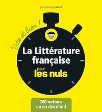 Télécharger le livre : La littérature française pour les Nuls - Vite et bien