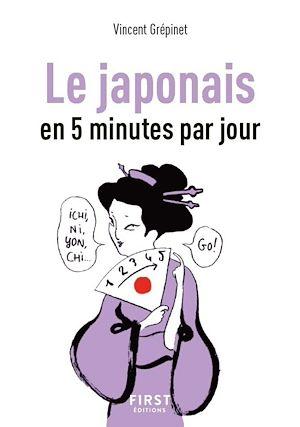 Téléchargez le livre :  Petit Livre de - Le Japonais en 5 minutes par jour