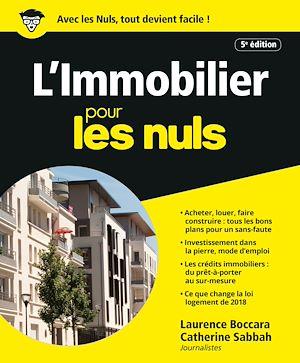 Téléchargez le livre :  L'Immobilier pour les Nuls, 5e éd.