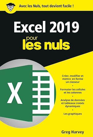 Téléchargez le livre :  Excel 2019 pour les Nuls, poche