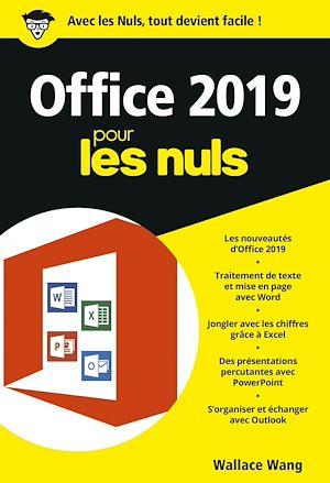 Téléchargez le livre :  Office 2019 pour les Nuls, poche - Word, Excel, PowerPoint et Outlook