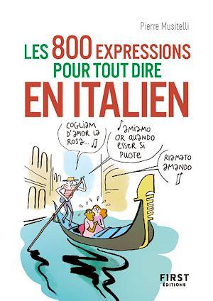 Téléchargez le livre :  800 expressions pour tout dire en italien