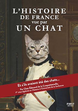 Téléchargez le livre :  L'Histoire de France vue par un chat - et si les Gaulois, Charlemagne, Napoléon ou encore notre président actuel avaient été des chats ?