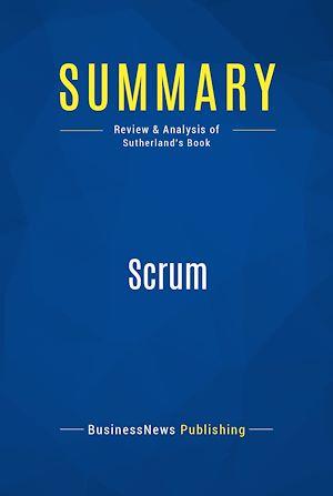 Téléchargez le livre :  Summary: Scrum