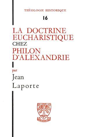 Téléchargez le livre :  La doctrine eucharistique chez Philon d'Alexandrie
