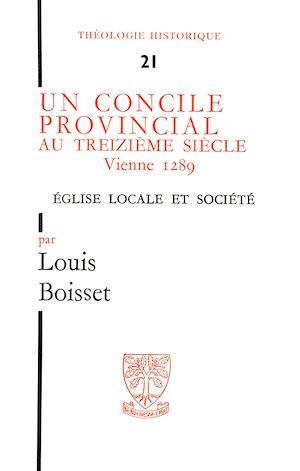 Téléchargez le livre :  Un concile provincial au treizième siècle : Vienne 1289