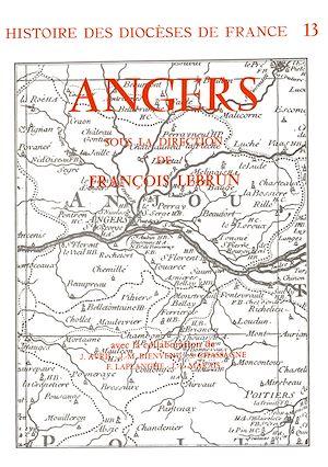 Téléchargez le livre :  Histoire des diocèses de France - Le diocèse d'Angers