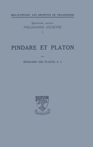 Téléchargez le livre :  Pindare et Platon