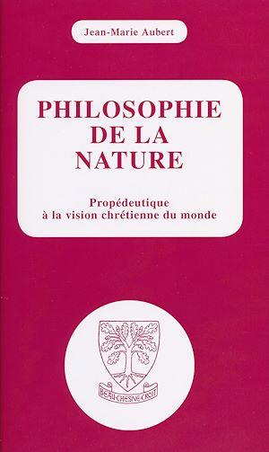 Téléchargez le livre :  Philosophie de la nature